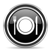 Icono de restaurante — Foto de Stock