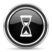Czas ikona — Zdjęcie stockowe