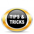 Stock Photo: Tips tricks icon