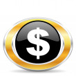 Dollar icon, — Stock Photo #31851731