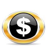 Dollar icon, — Stock Photo #31851731