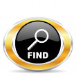 Find icon — Stock Photo #31852277