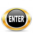 Enter icon — Stockfoto #31853227
