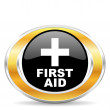 Stock Photo: First aid,