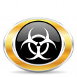 Biohazard icon — Stock Photo #31854103