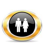 Couple icon — Stock Photo #31854665