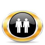 Couple icon — Stock Photo #31854733
