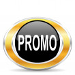 Stock Photo: Promo icon