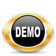Demo icon, — Stockfoto