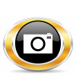 Camera icon, — Stock Photo #31855095