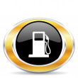 Petrol icon — Stockfoto