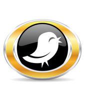Twitter-ikonen — Stockfoto