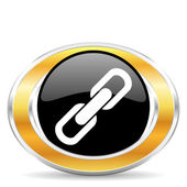 Link icon — Stock Photo