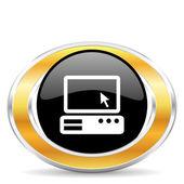 Computer icon — Stockfoto