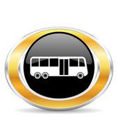 Bus icon, — Stock Photo