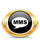 Mms icon, — Stock Photo