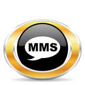 Mms icon, — Stock Photo
