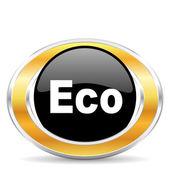Eco icon, — Stock Photo