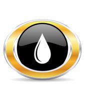 Капля воды, — Стоковое фото