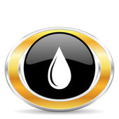 Water drop, — Stock Photo