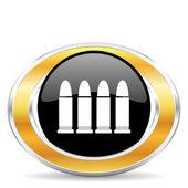 Ammunition icon — Stock Photo