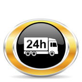 Delivery icon, — Stock Photo