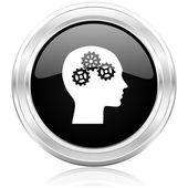 Head icon — Stock Photo