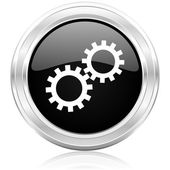 Gear icon — Stock Photo