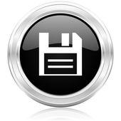 Disk icon — Stock Photo
