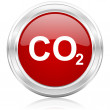 Carbon dioxide icon — Stock Photo #32085085