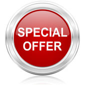 Special offer icon — Stock Photo