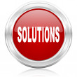 Solutions icon — Foto de stock #32344355