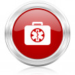 Rescue kit icon — Stockfoto