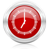 Time icon — Stockfoto