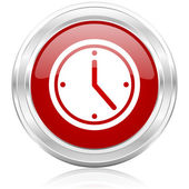 Time icon — Stock fotografie