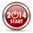 Year 2014 icon — Stock Photo #33708193