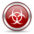 Biohazard icon — Stock Photo #33711377