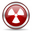 Radiation icon — Stockfoto #33711977