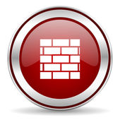 Firewall icon — Foto Stock