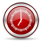 Time icon — Foto de Stock