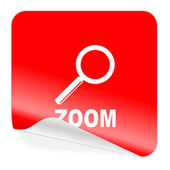 Zoom icon — Stock Photo