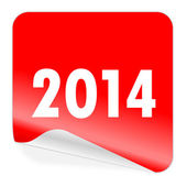 Year 2014 icon — Foto Stock