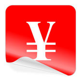 Icona di yen — Foto Stock