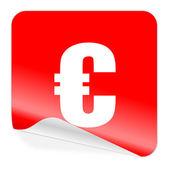 значок евро — Стоковое фото