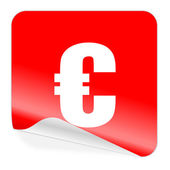 Euro simgesi — Stok fotoğraf
