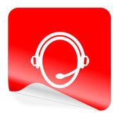 Customer service icon — Stock Photo