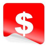 Ikona dolaru — Stock fotografie