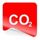 Icono de dióxido de carbono — Foto de Stock