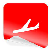 Arrivals icon — Stock Photo