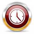Time icon — Foto de stock #34398335